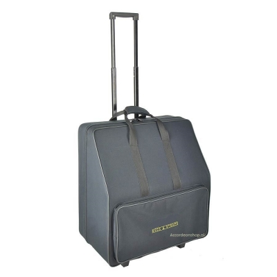 Accordeon softcase trolley tas/koffer ( alle afmetingen )